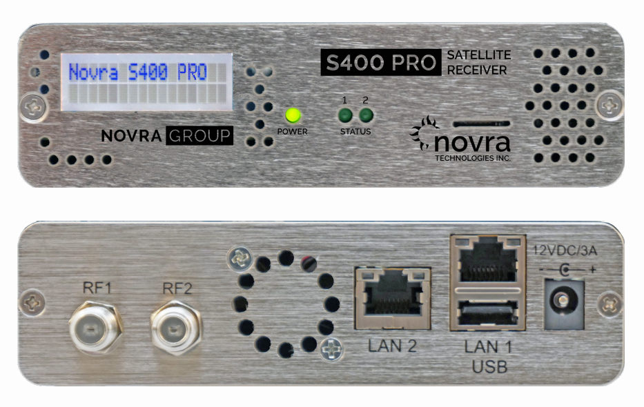 GOES/GRB - S400 Pro Receiver